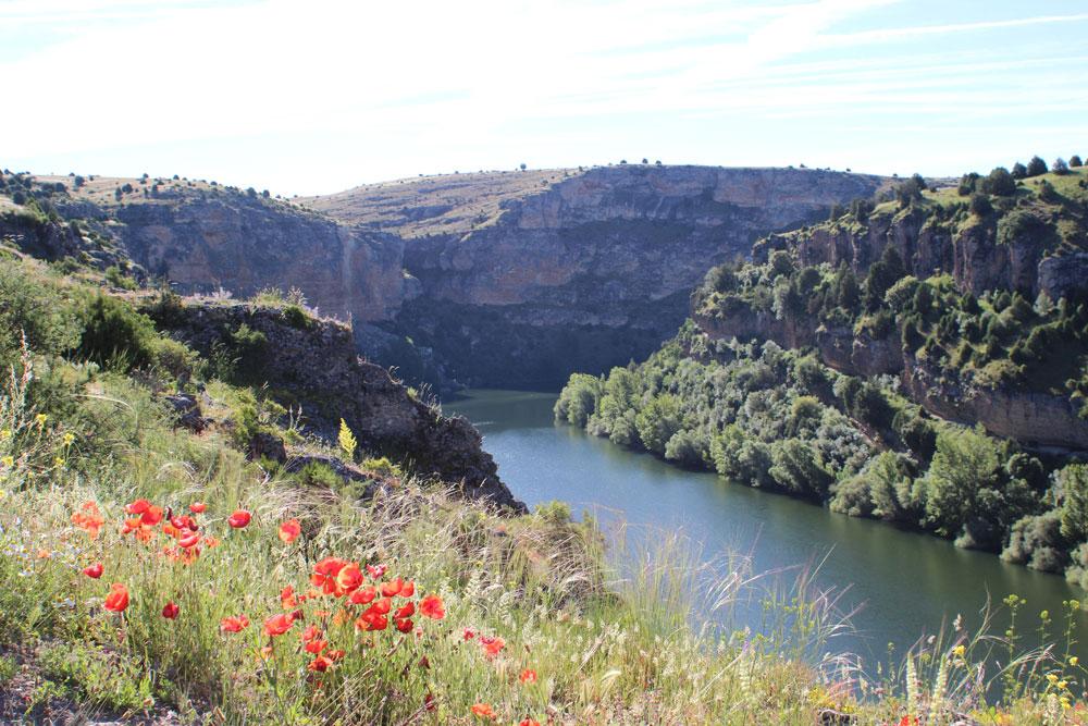 Río Duratón, frontera Vacceos y Arévacos