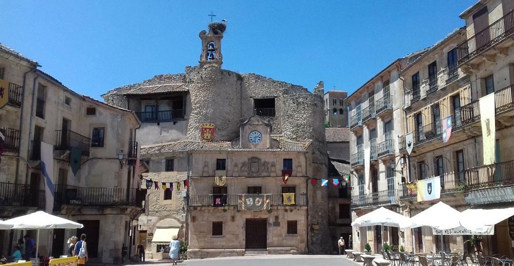 Castillo Fernán González en Sepúlveda